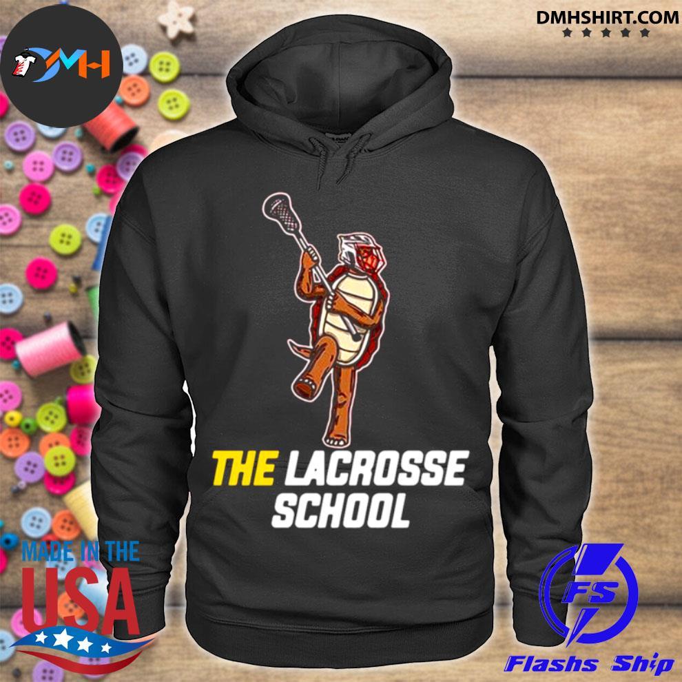 Turtle the lacrosse school hoodie