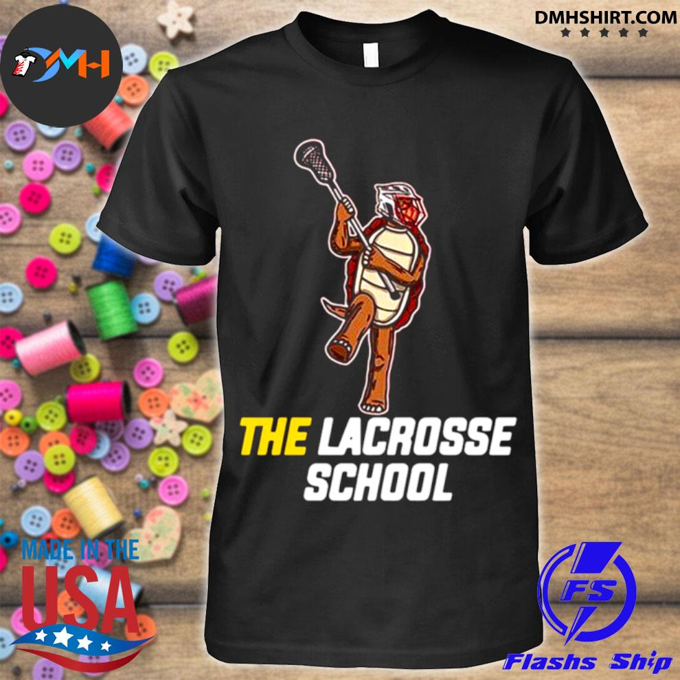 Turtle the lacrosse school shirt