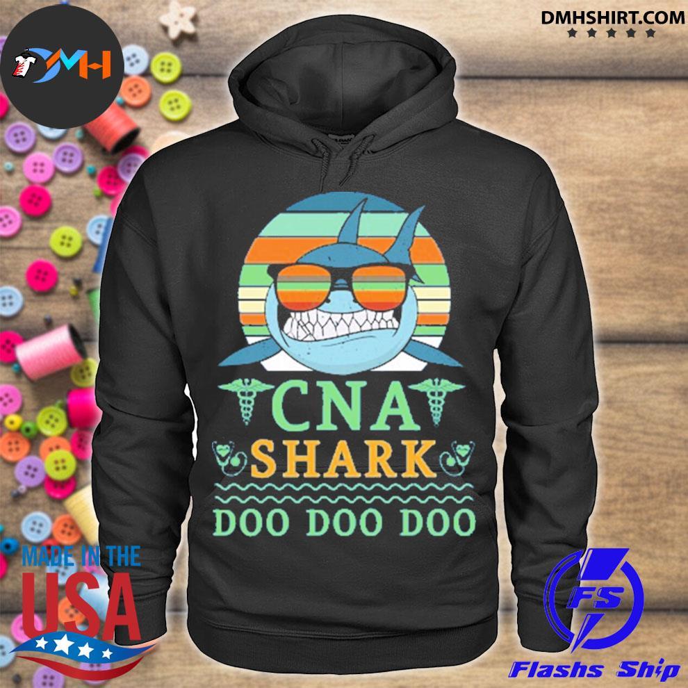 Vintage cna shark doo doo doo hoodie