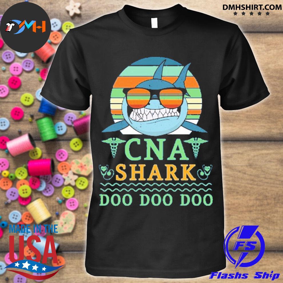 Vintage cna shark doo doo doo shirt