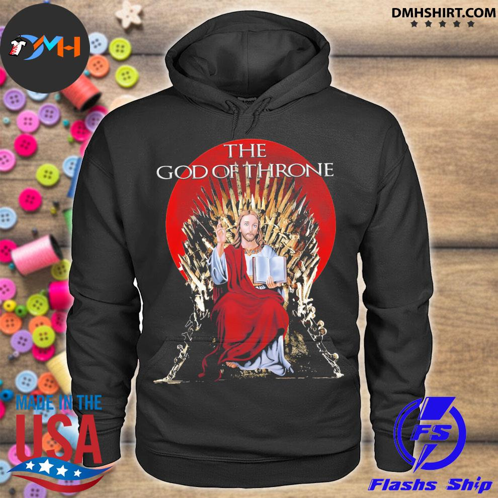 Awesome jesus The god of Thrones s hoodie