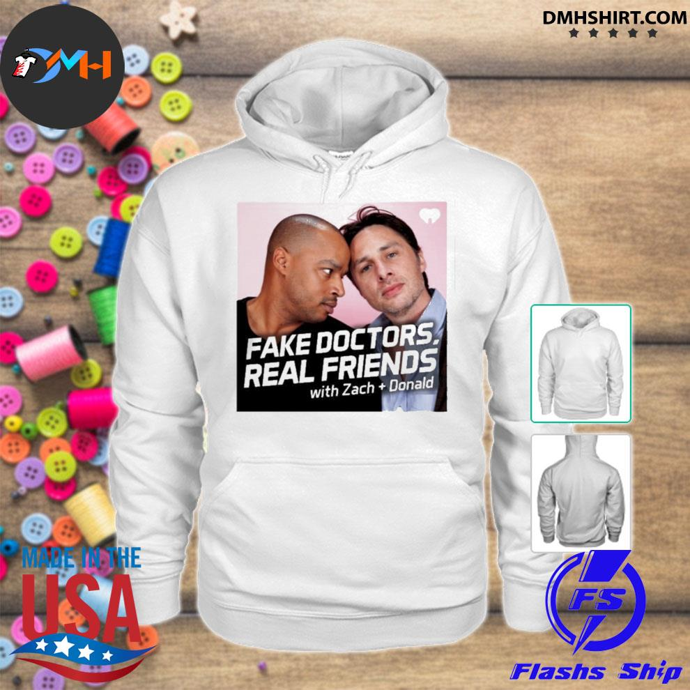 Fake doctors real friends merch new s hoodie