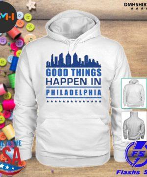 Things happen in philadelphia skyscrapers skyline philly fans s hoodie