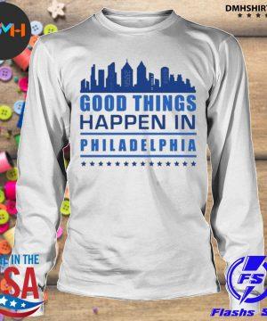 Things happen in philadelphia skyscrapers skyline philly fans s longsleeve