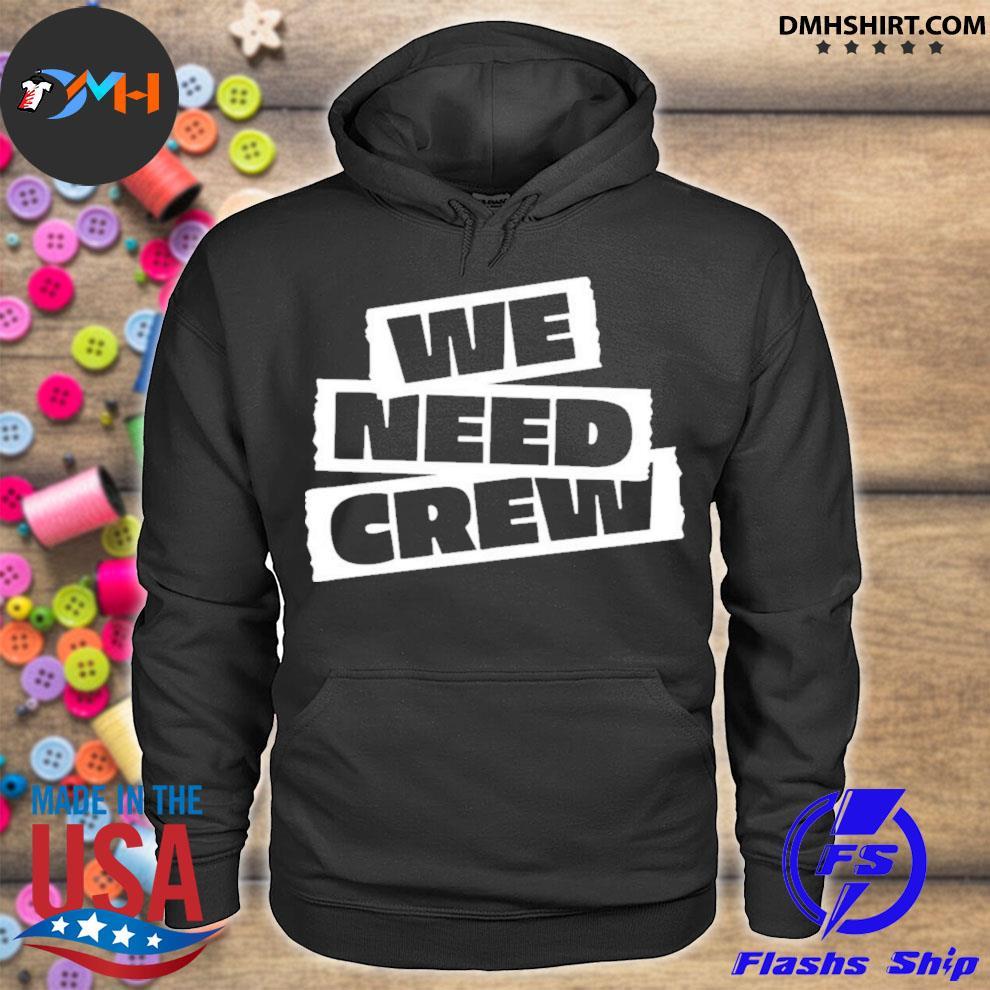 Official 5sos merch we need crew s hoodie
