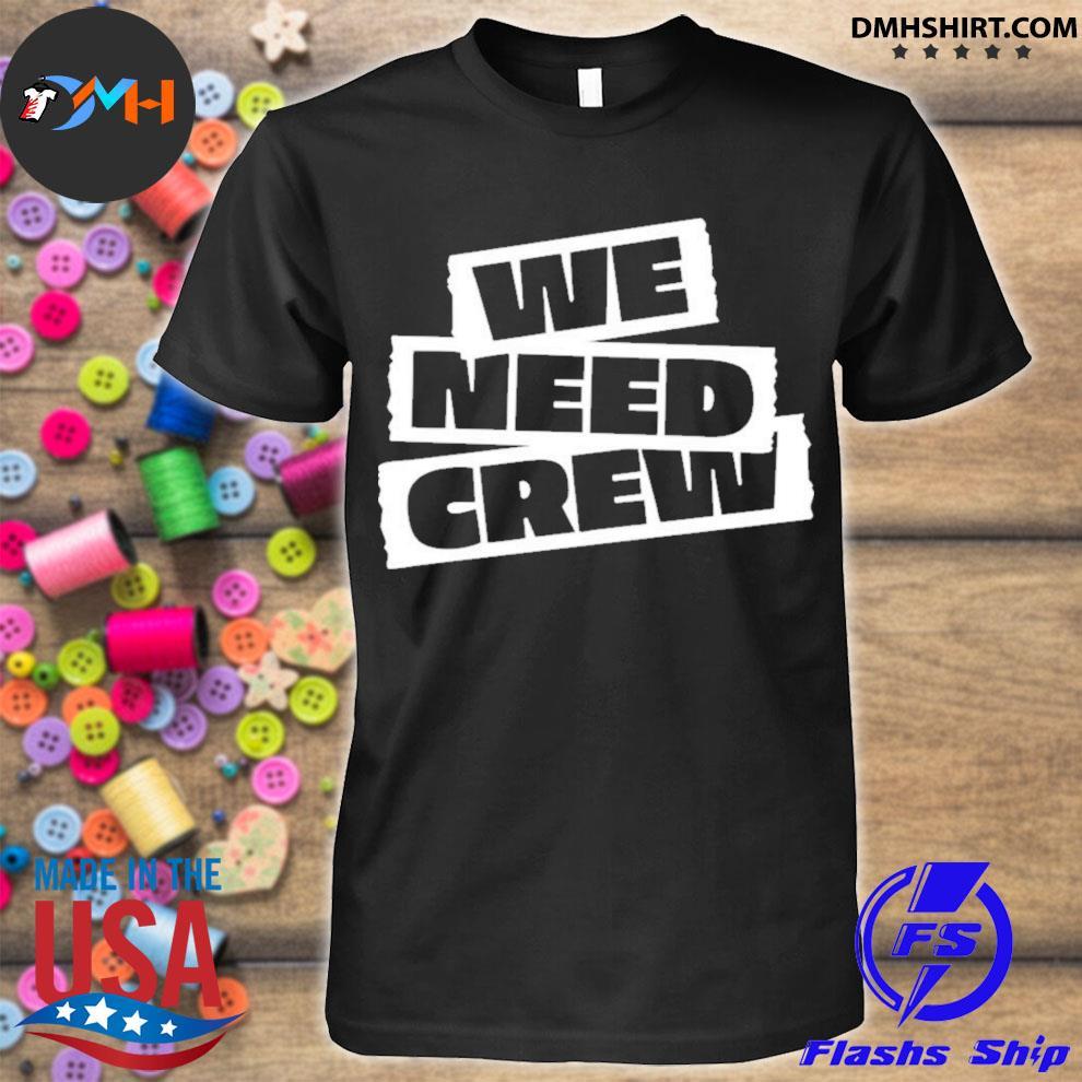 Official 5sos merch we need crew shirt