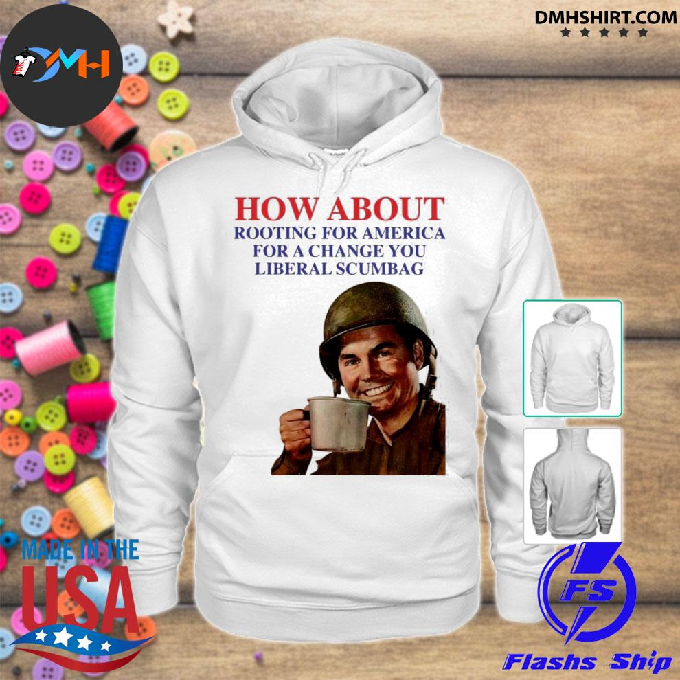 Official how about rooting for america s hoodie