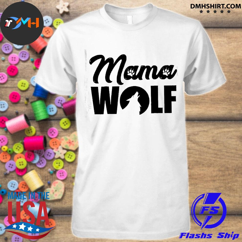 Official mama wolf shirt