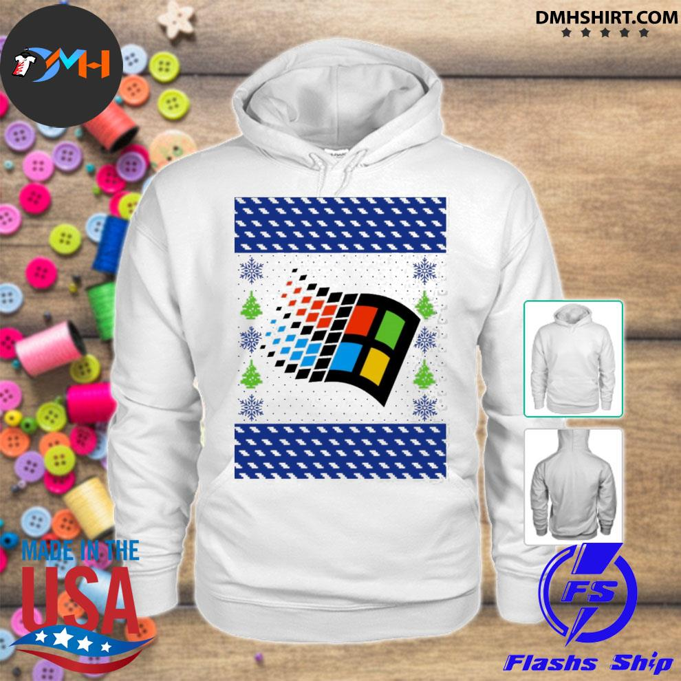 Official microsoft windows xp ugly s hoodie