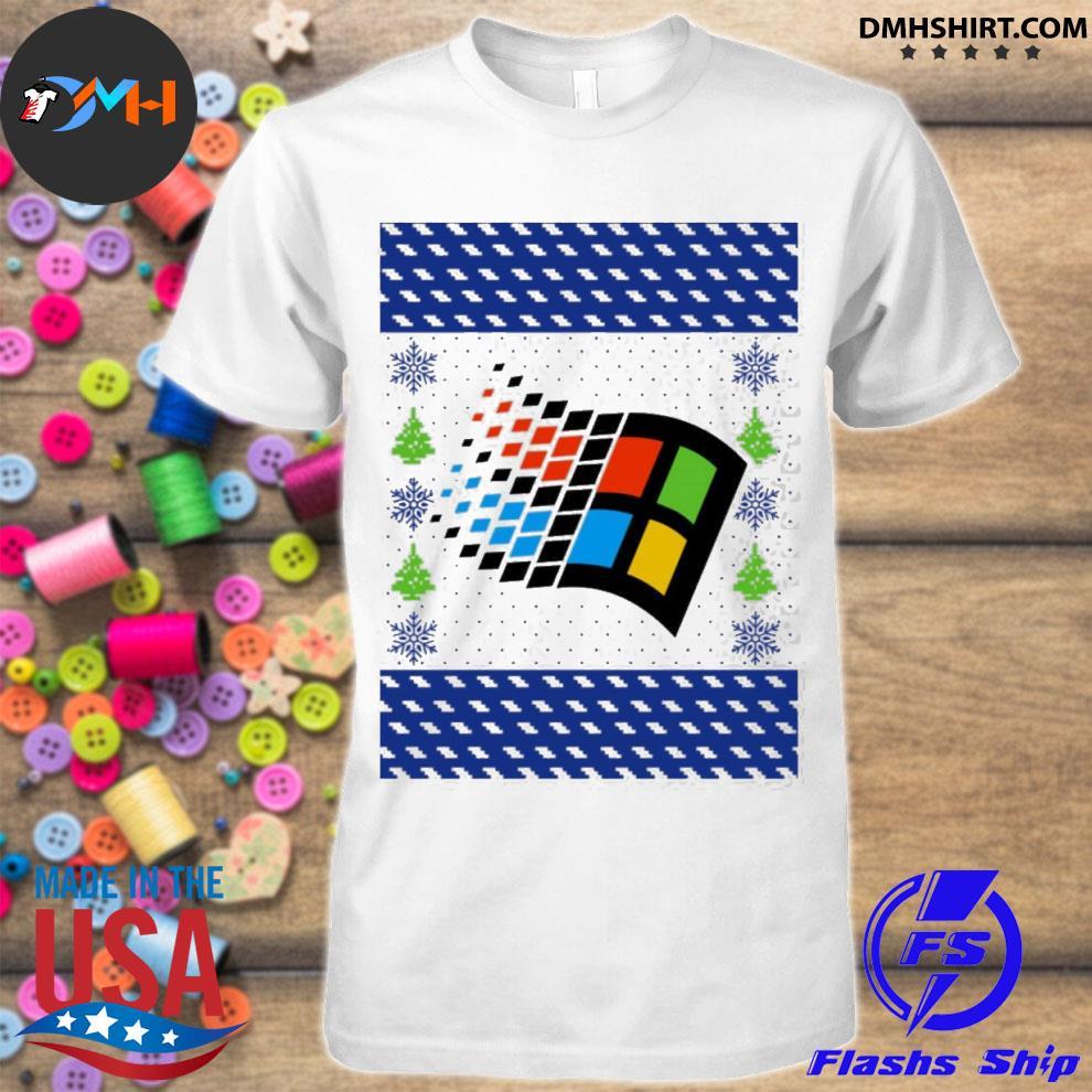 Official microsoft windows xp ugly shirt