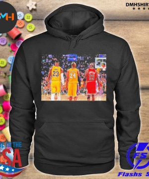 Lebron James and Bryant and Jordan Friends 2021 s hoodie