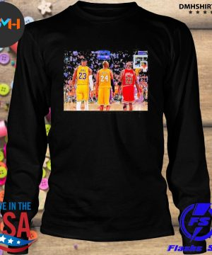 Lebron James and Bryant and Jordan Friends 2021 s longsleeve
