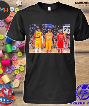 Lebron James and Bryant and Jordan Friends 2021 shirt