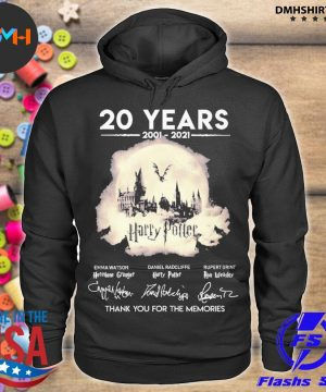 Official 20 years 2021 2021 harry potter thank you for the memories s hoodie