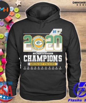 Official 2020 nfc north division champions green bay packers 2021 s hoodie