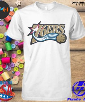 Official 76ers logo shirt