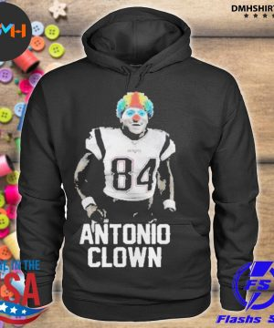 Official 84 patriots antonio brown clown s hoodie