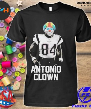 Official 84 patriots antonio brown clown shirt