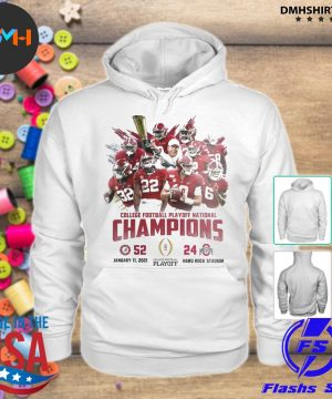 Official alabama crimson college football playoff national champions 2021 s hoodie