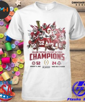 Official alabama crimson college football playoff national champions 2021 shirt