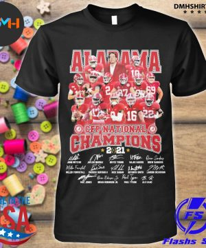 Official alabama crimson tide cfp national champions 2021 shirt