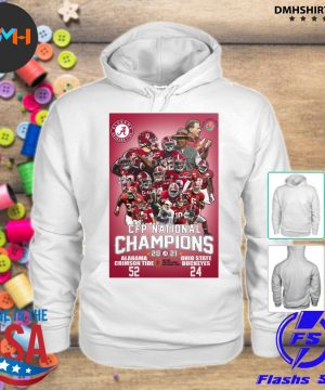 Official alabama crimson tide cup cfp national champions 2021 52 24 ohio state buckeyes s hoodie