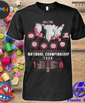 Official alabama crimson tide national championship 2021 shirt