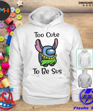 Official among us stitch idk bro you look sus s hoodie