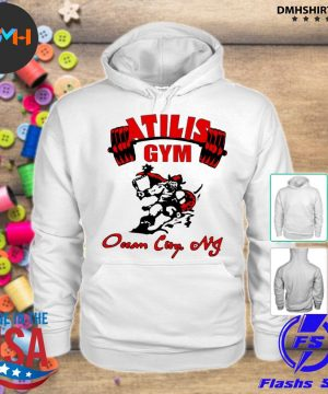 Official atilis gym s hoodie