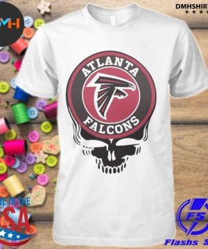 Official atlanta falcons football skull shirt