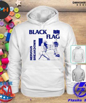 Official back nervous breakdown flag s hoodie