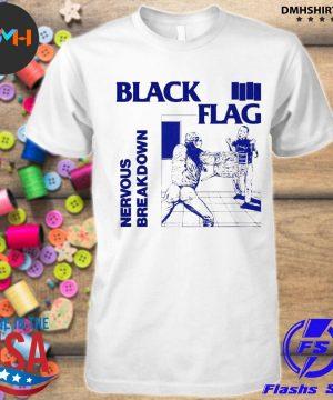 Official back nervous breakdown flag shirt