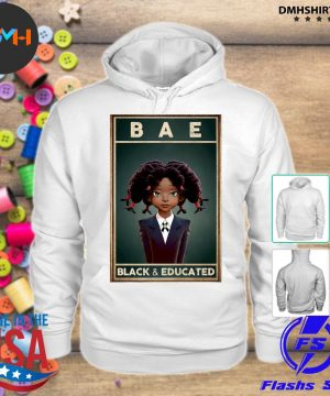 Official bae black and educated 2021 s hoodie