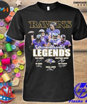 Official baltimore ravens ravens legends ray team shirt