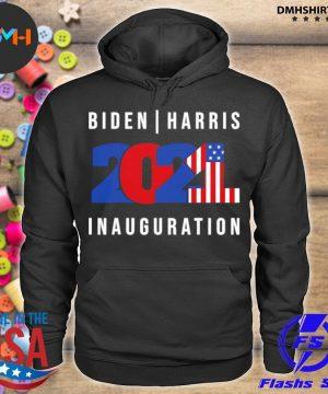 Official biden harris inauguration 2021 presidential american flag s hoodie