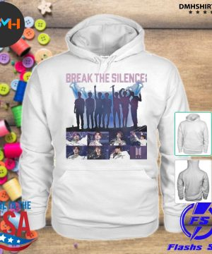 Official bts break the silence signatures s hoodie