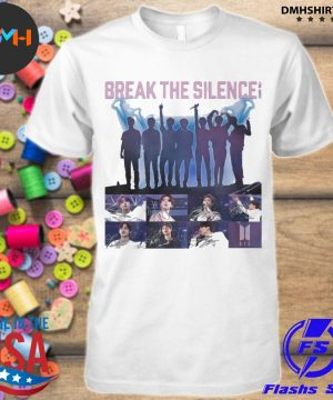 Official bts break the silence signatures shirt
