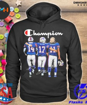 Official buffalo bills champion diggs allen beasley signatures s hoodie