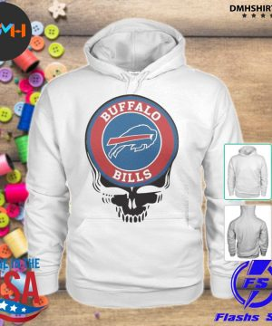 Official buffalo bills football skull s hoodie