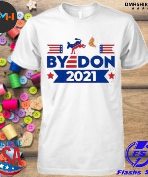 Official byedon kick trump 2021 shirt