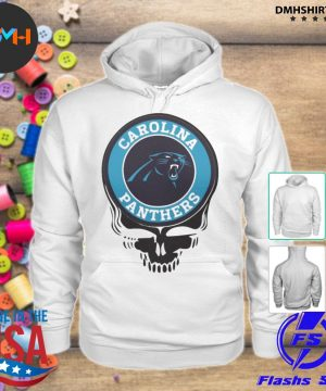 Official carolina panthers football skull s hoodie