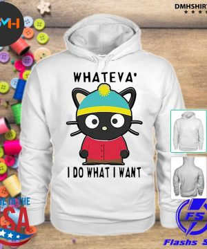 Official cat whateva i do what i want s hoodie
