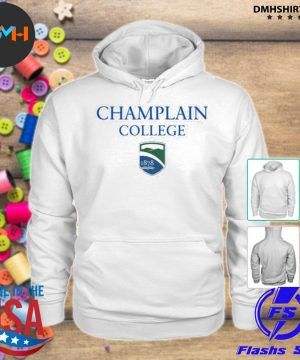 Official champlain college s hoodie