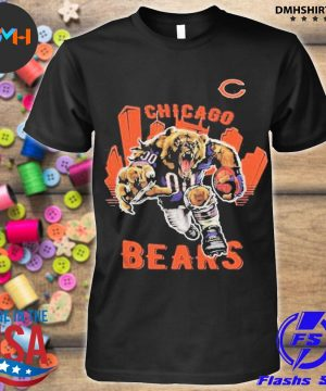Official chicago bears anniversary shirt