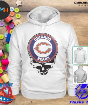Official chicago bears football skull s hoodie