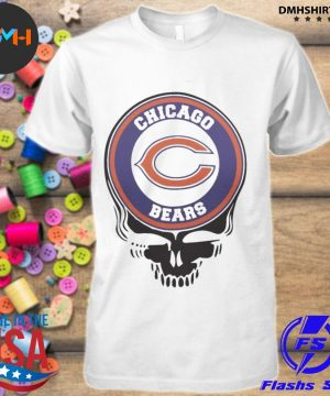Official chicago bears football skull shirt