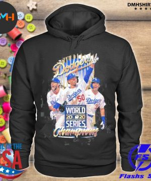 Official dodgers world 2020 series champions s hoodie