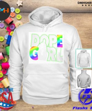 Official dope girl s hoodie