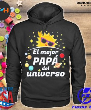 Official el mejor papa del universo 2020 father's day s hoodie