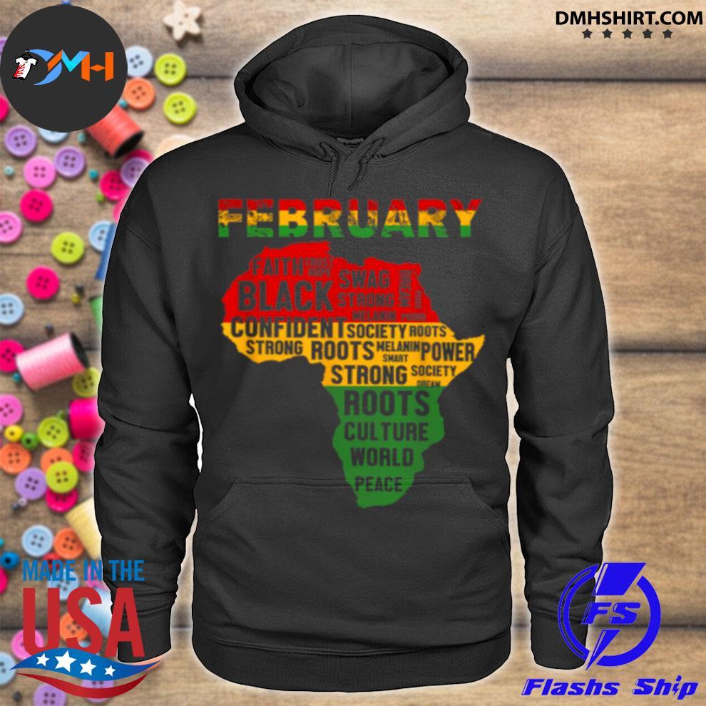 Official february faith trust hope black confident s hoodie